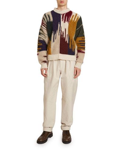 Men's Drake Ikat Sweater