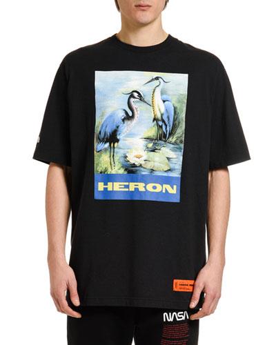 Men's Heron Graphic T-Shirt