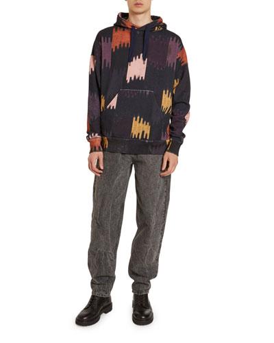 Men's Viley Ikat Pullover Hoodie