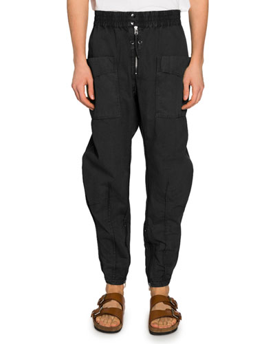 Men's Faded Twill Cargo Pants