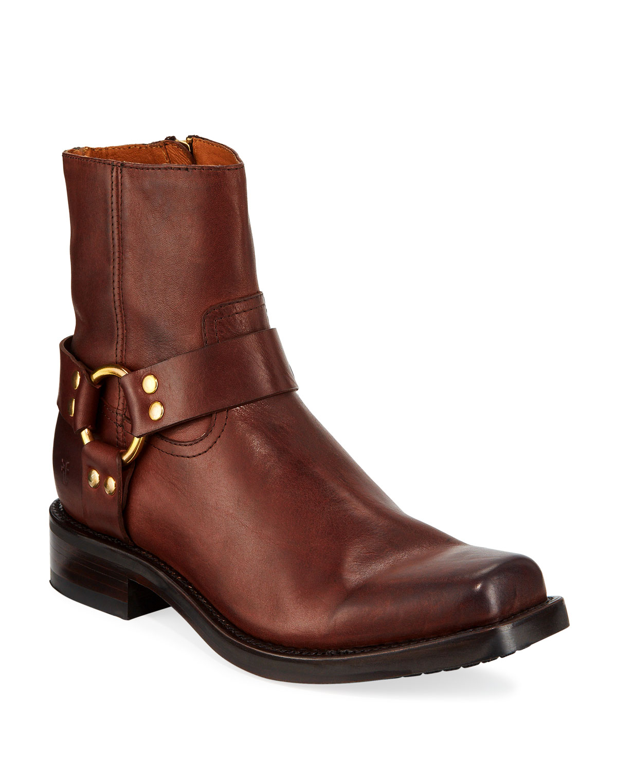 Men's Conway Leather Harness Boots