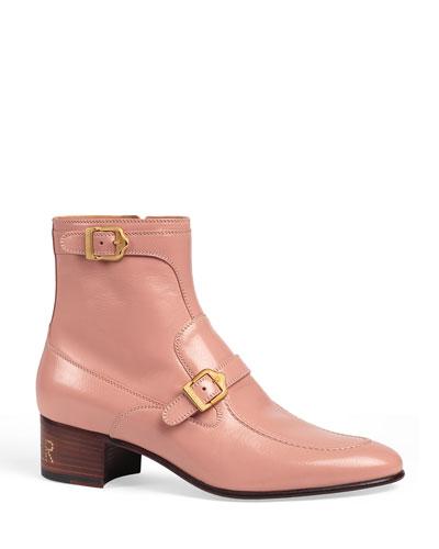 Men's Ebal Sucker Double-Strap Ankle Boots