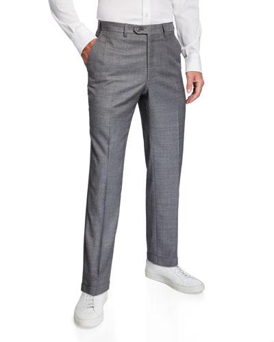 Men's Light Sharkskin Dress Pants