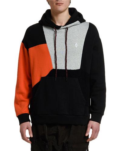 Men's Colorblock Pullover Hoodie