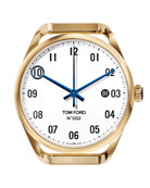 TOM FORD TIMEPIECES Men's Automatic Round 18K Gold