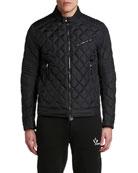 Moncler Men's Breitman Quilted Moto Jacket