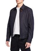 Ermenegildo Zegna Men's Traveler Zip-Front Jacket