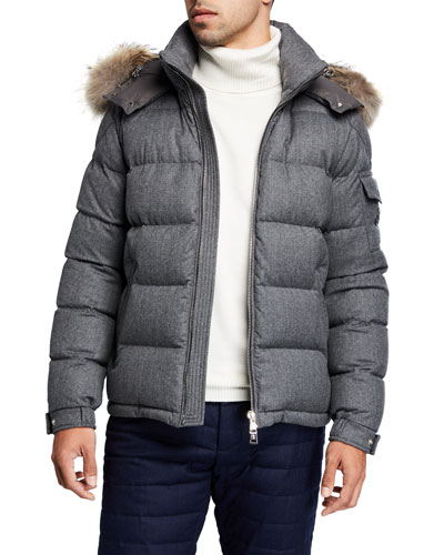 Men's Allemand Leather-Front Jacket
