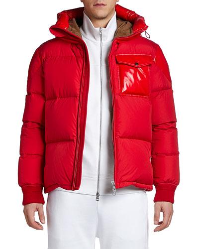Men's Eloy Laque Accent Puffer Coat