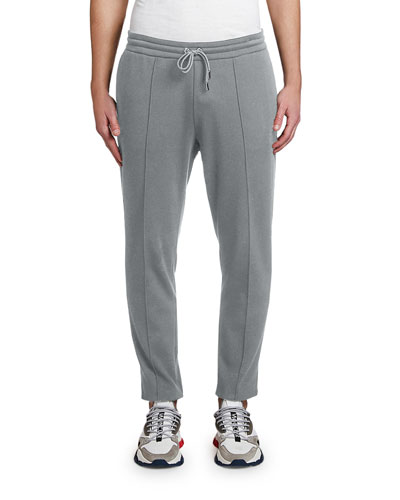 Men's Woven Drawstring Tapered Pants