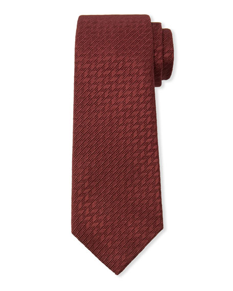 Giorgio Armani Textured Cotton/Silk Tie
