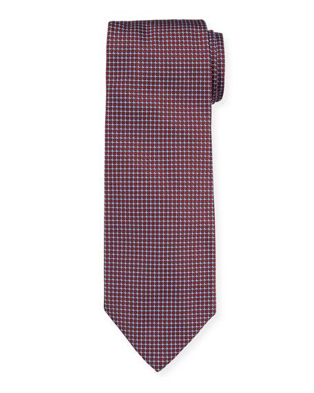 Giorgio Armani Patterned Mulberry Silk Tie