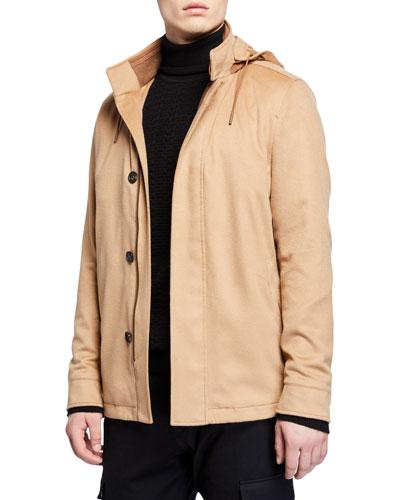 89b949aaf6 Ermenegildo Zegna Cashmere Coat | Neiman Marcus