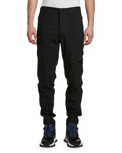 Men's Wool Cargo Pants