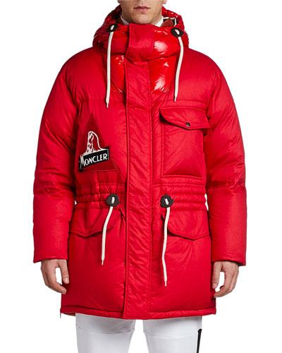 Men's Dedion Hooded Puffer Coat