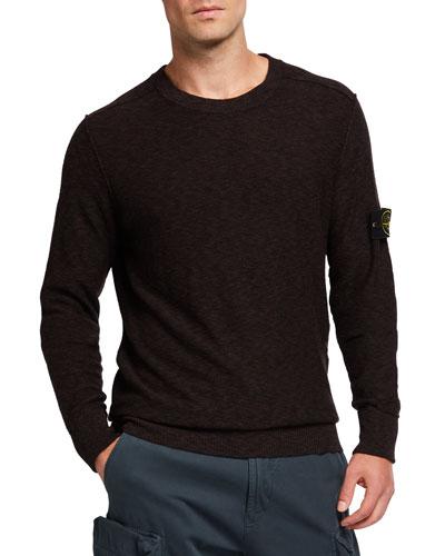 Men's Crewneck Marled Sweater