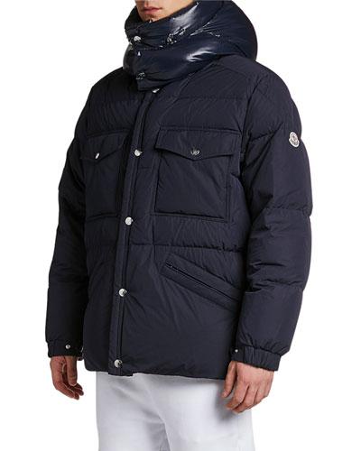 155f076e9 Snap Front Puffer Coat | Neiman Marcus