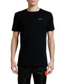 Off-White Men's Acrylic Arrows Slim Crewneck T-Shirt