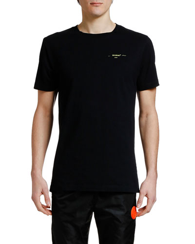 Men's Acrylic Arrows Slim Crewneck T-Shirt
