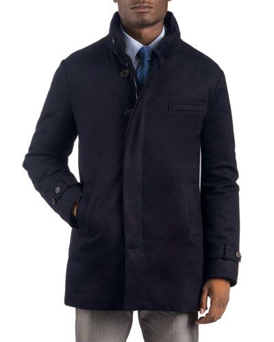 Men's Waterproof Cashmere Car Coat