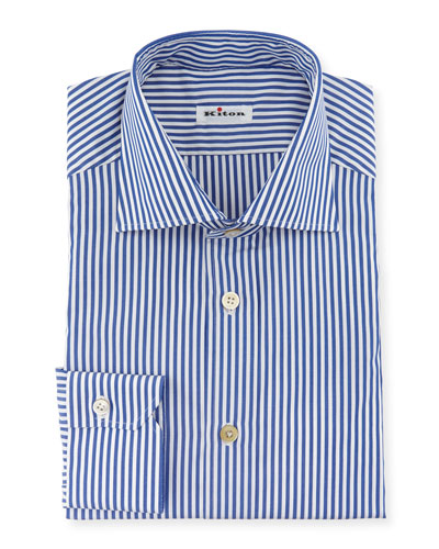 Men's Bengal-Stripe Dress Shirt