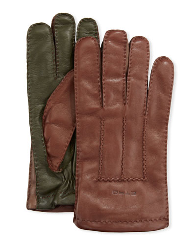 Men's Lamb Leather Gloves