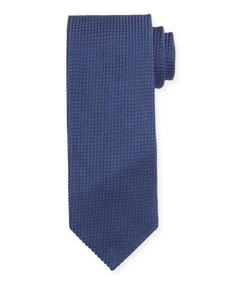 TOM FORD Micro-Pattern Silk-Blend Tie