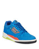 Bally Men's Kuba Multicolor Leather Sneakers