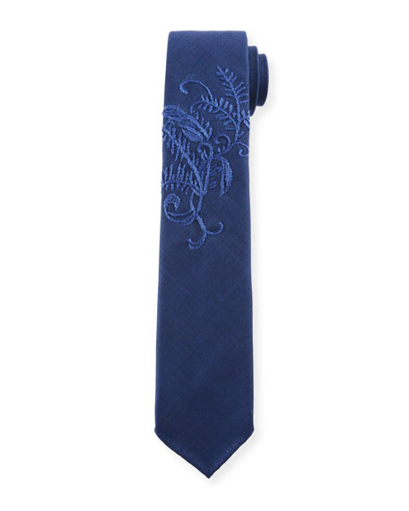Tie Your Tie Kimono 8 Wool Tie