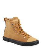 Giuseppe Zanotti Men's Blabber Suede High-Top Sneakers with