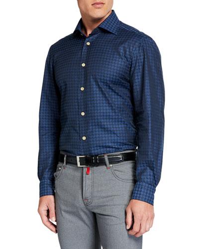 Men's Houndstooth Sport Shirt