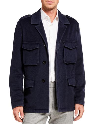 Men's Garment-Dyed Field Jacket