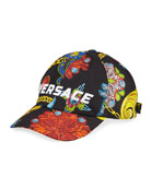 Versace Men's Jewelry Pattern Baseball Cap