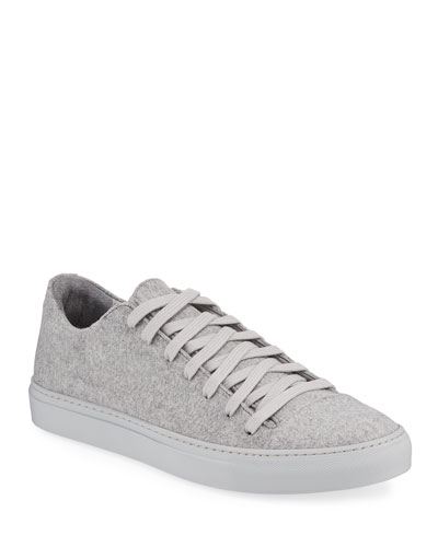 Men's Reed Low-Top Wool-Felt Sneakers