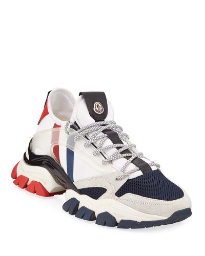 Men's Trevor Chunky Nylon Trainer Sneakers
