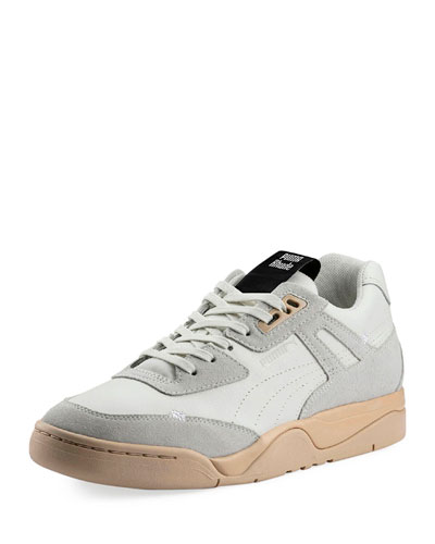 Men's Palace Guard Rhude Two-Tone Leather Sneakers