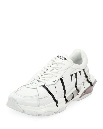 Men's Bounce VLTN Logo Runner Sneakers