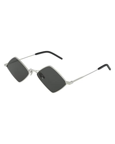 Men's Lisa Geometric Square Sunglasses