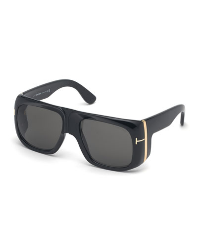 Men's Gino Vintage-Inspired Aviator Sunglasses
