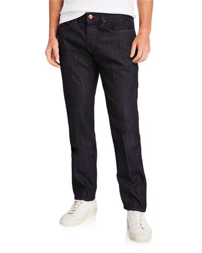 Men's Straight-Leg 10-oz. Stretch Denim Jeans