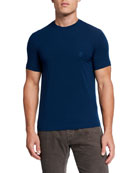 Giorgio Armani Men's Jersey-Stretch Crewneck T-Shirt