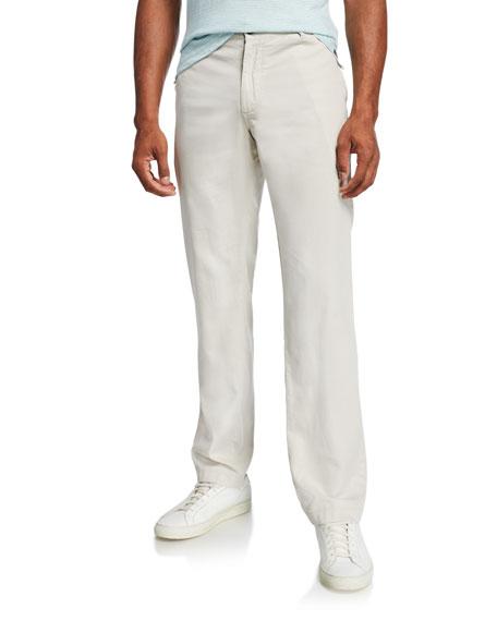 Faherty Men's Harbor Slim-Leg Pants