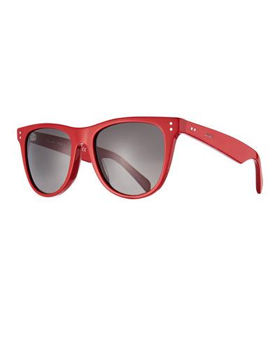 Men's Gradient Acetate Sunglasses