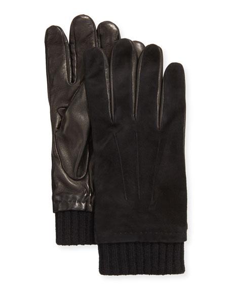 Portolano Men's Sheepskin Gloves with Cashmere Lining
