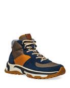 Coach Men's Colorblock Suede/Nylon Hiking Boots