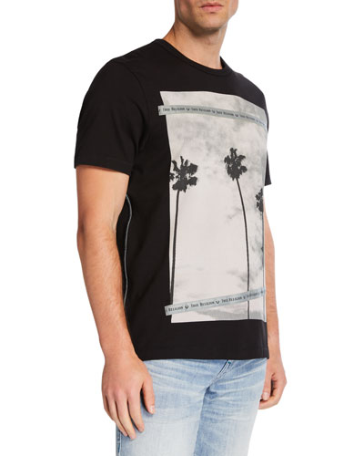 Men's Palm Tree Graphic T-Shirt