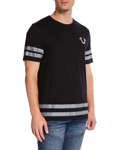 Men's Reflective Buddha Puff T-Shirt