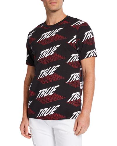 Men's Graphic Logo Crewneck T-Shirt