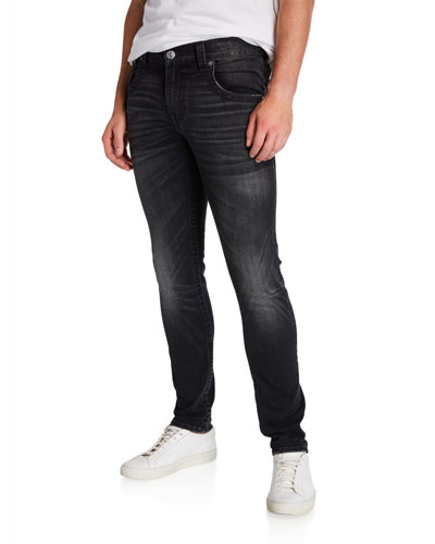 Men's Tony Black-Wash Skinny Jeans