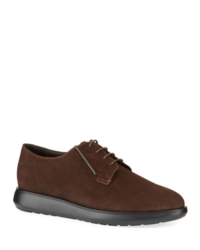 Men's Chevron Low-Top Chukka Boots
